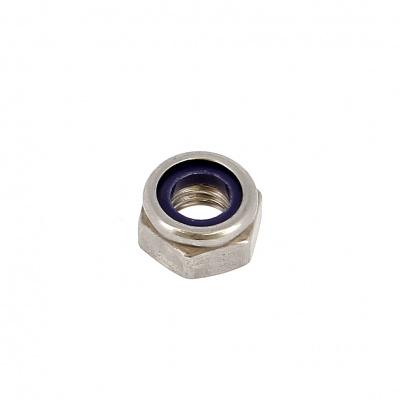 Samopoistná matica Nylstop, nehrdzavejúca oceľ A2, DIN 985