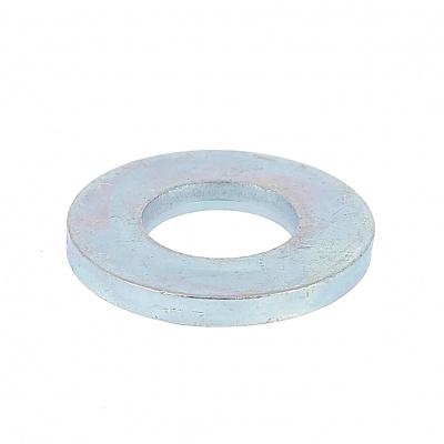 Podložka, pozinkovaná oceľ biela, DIN 125A