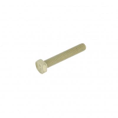 Šesťhranná hlava, žltý hliník P60 OA , úplné závitovanie, DIN 933